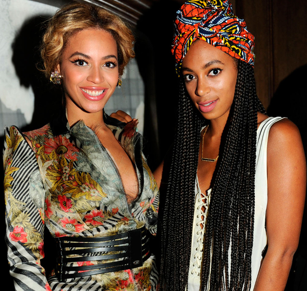 Beyonce And Solange Stylish Sisters