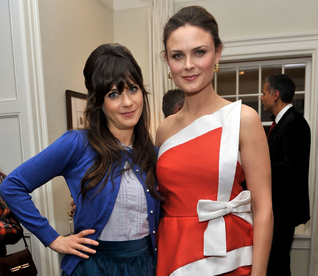 Emily And Zooey Deschanel Stylish Sisters