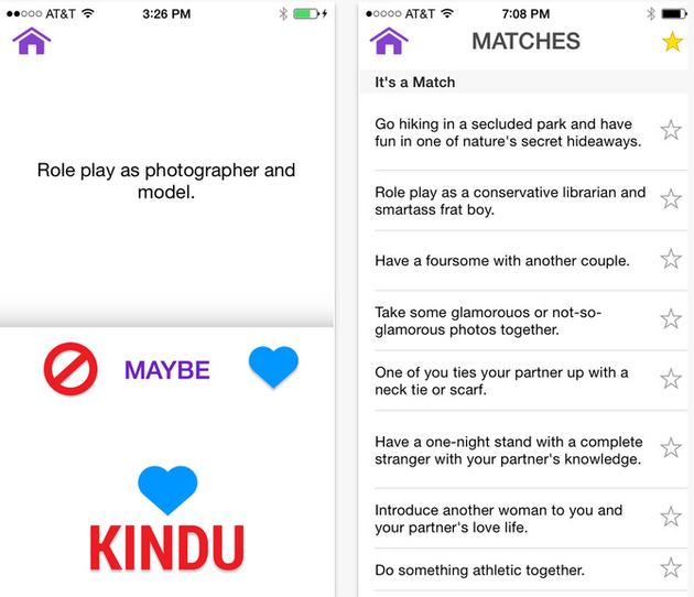 Kindu Relationship App