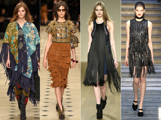 Fringe Trends London Fashion Week 2015