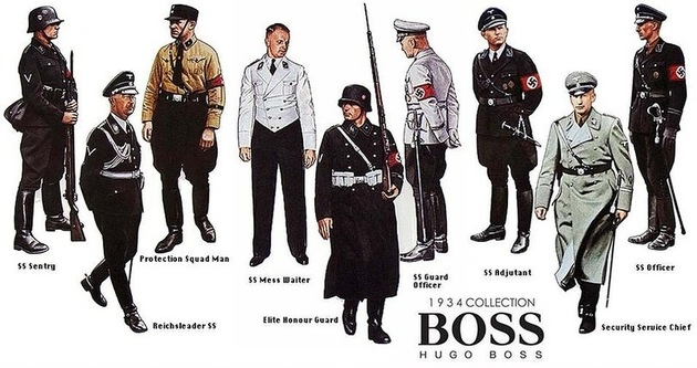 Hugo Boss Apology For Nazi Uniforms