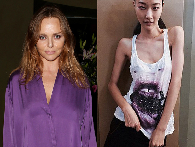 Stella Mc Cartney Apology For Photo Of Skinny Model