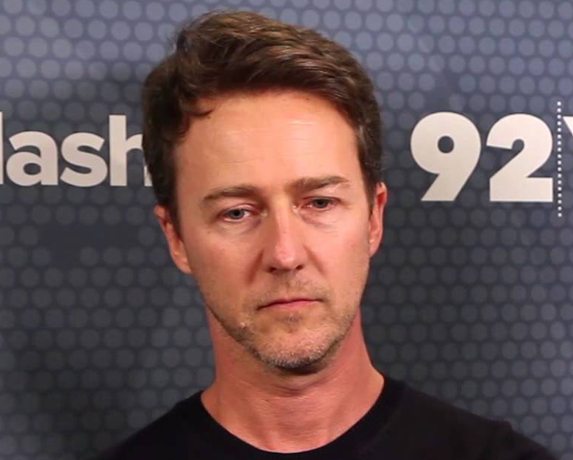Edward Norton Never Smiles