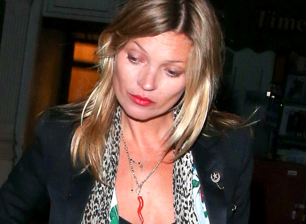 Kate Moss Never Smiles
