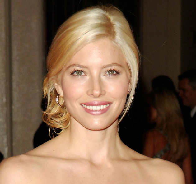 Jessica Biel With Blonde Hair