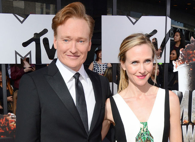 Conan O'Brien And Liza Powel