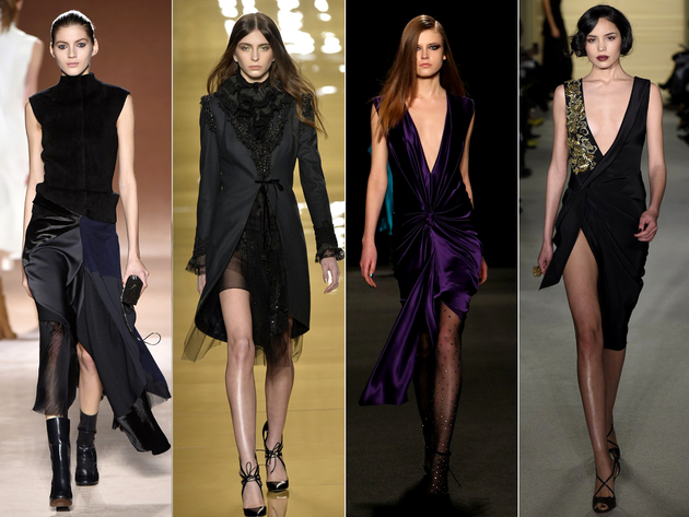 Asymmetric Hemline Trends Fall 2015 New York Fashion Week