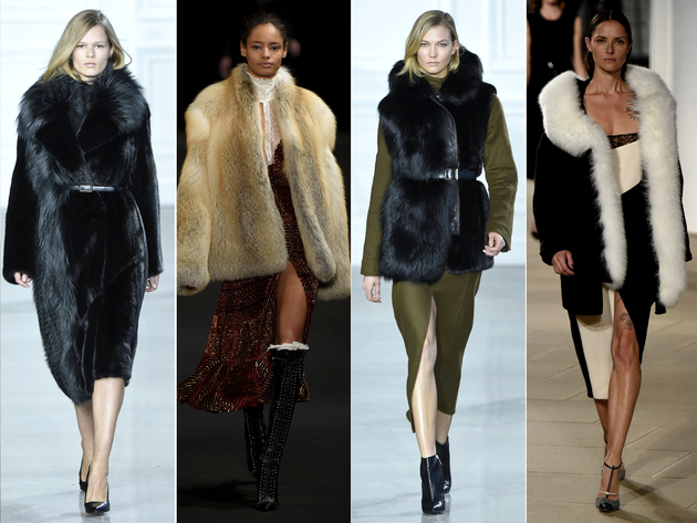 Big Fur Trends Fall 2015 New York Fashion Week
