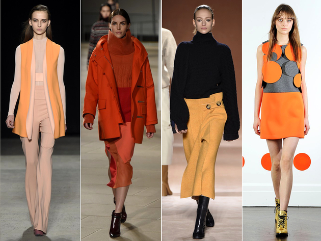 Color Orange Fall 2015 New York Fashion Week