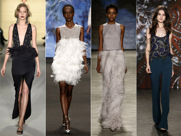 Feathers Fall 2015 New York Fashion Week