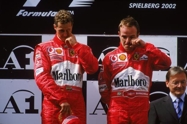 Michael Schumacher Crying
