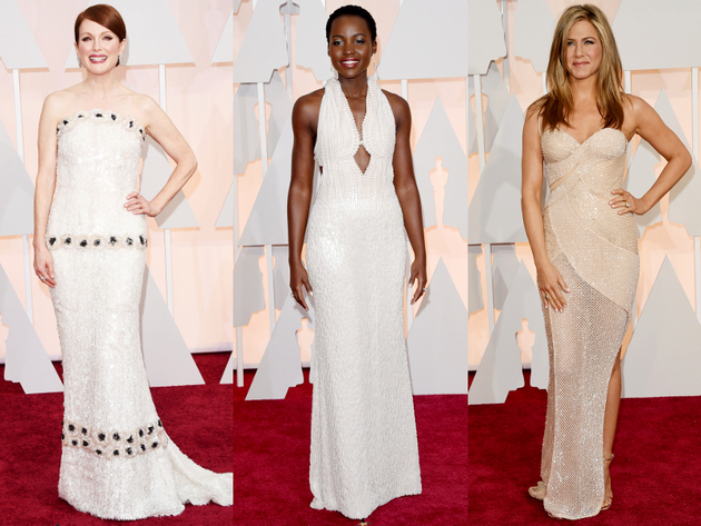 Oscars 2015 Embellished Gowns
