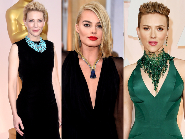 Oscars 2015 Necklaces
