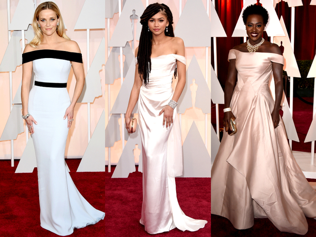 Oscars 2015 Off The Shoulder Dresses