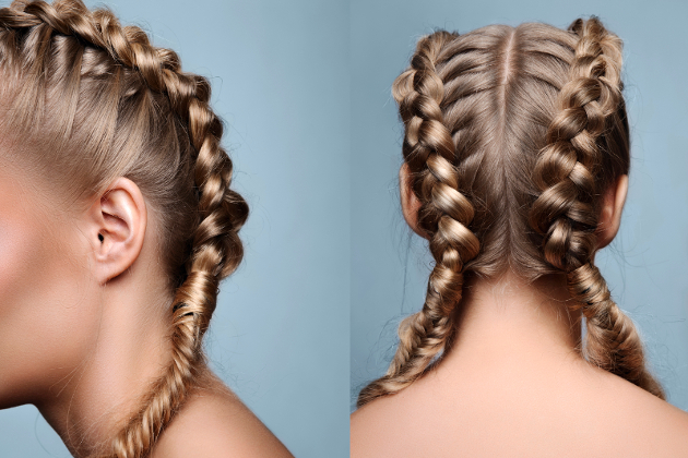 Braided Hairstyles For Skiing
