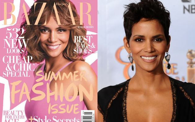 Halle Berry Harper'S Bazaar Skin Lightening