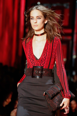 Big Buckle Belt Fall 2015 Trends