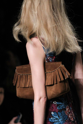 Fringe Clutch Bag Fall 2015
