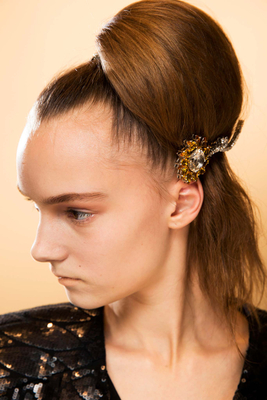 Hair Brooch Fall 2015