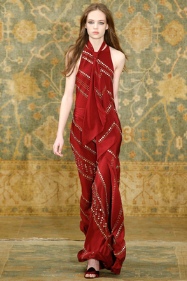 Long Scarf Dress Fall 2015
