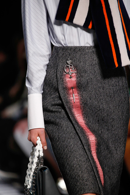 Skirt Brooch Fall 2015 Trends