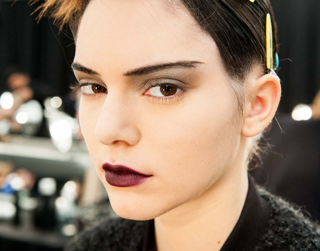 Dark Lipstick Fall 2015 Trends
