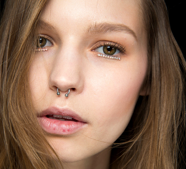 Face Jewelry Fall 2015 Trends