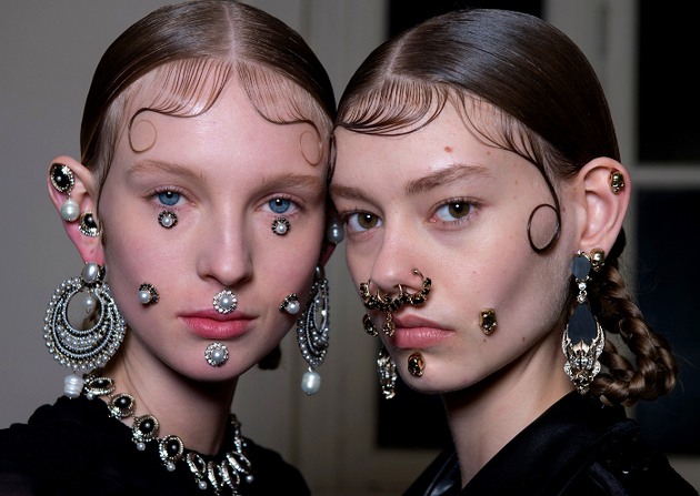 Facial Jewelry Trends Fall 2015