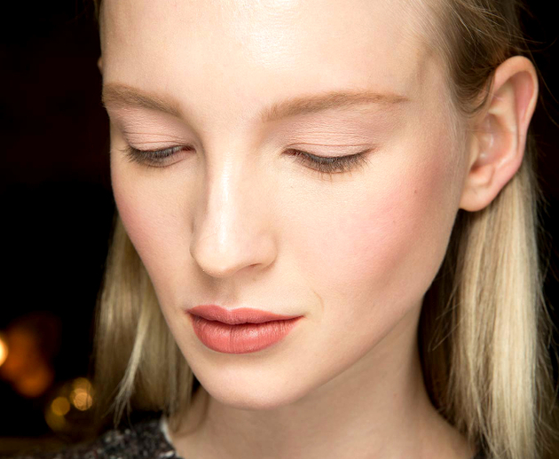 Flushed Cheeks Fall 2015 Makeup Trends