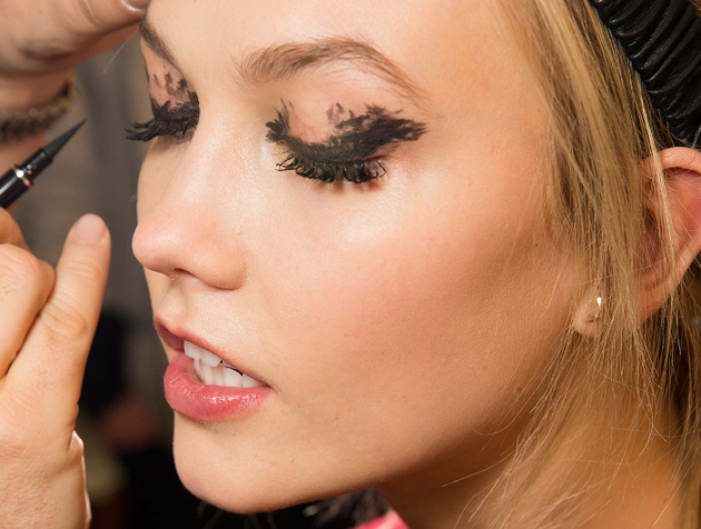 Messy Eye Makeup Fall 2015 Trends