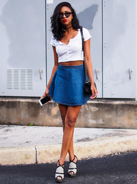 10 Cool Ways to Wear a Crop Top