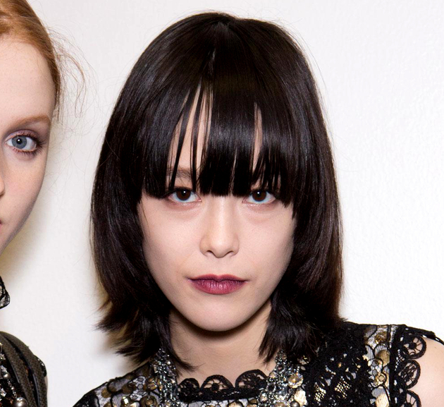 Bangs Fall 2015 Trends