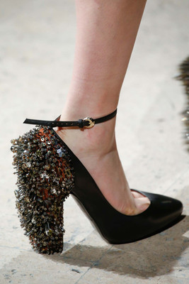 Beaded Pumps Fall 2015 Trends