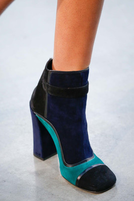 Colorblock Booties Fall 2015 Trends