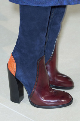 Colorblocked Boots Fall 2015