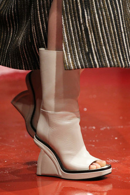 Cutout Booties Fall 2015 Marni