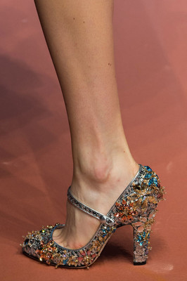 Embellished Pumps Fall 2015 Trends