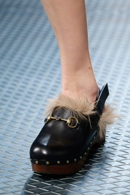 Fur Clogs Falll 2015 Trends
