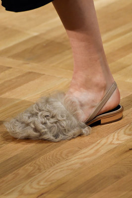 Fur Sandal Fall 2015