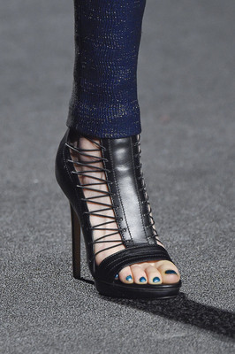 Laced Sandals Fall 2015 Monique Lhuillier