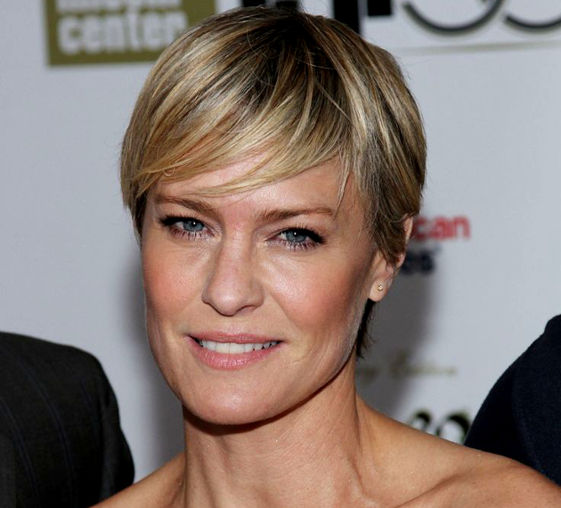 Robin Wright Haircut: Short Pixie Hairstyles
