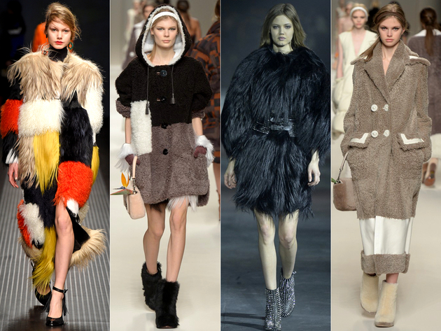 Fur Coats And Fur Shoes Fall 2015 Trends Milan Fashion Week