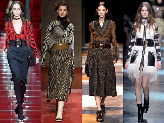 Oversized Belts Fall 2015 Trends Milan Fashion Week