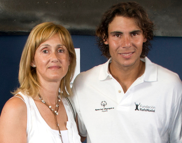 Rafael Nadal Living With Mom