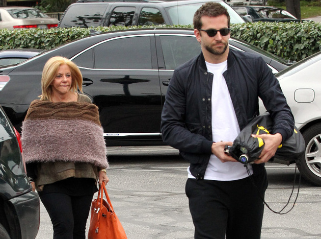 Bradley Cooper Living With Mom