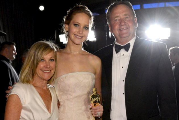 Jennifer Lawrence Living With Parents
