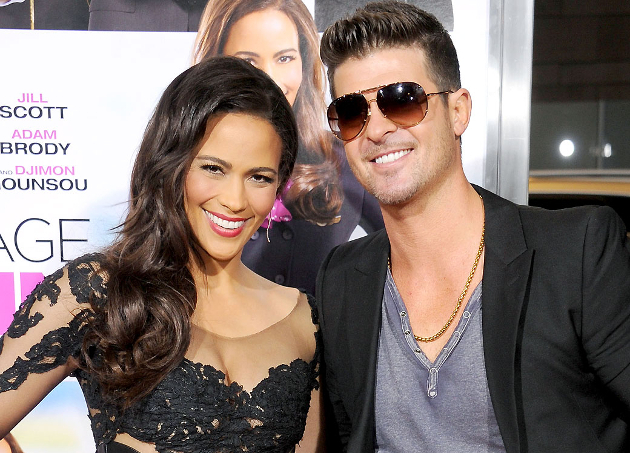 Paula Patton And Robin Thicke Never Went To Prom