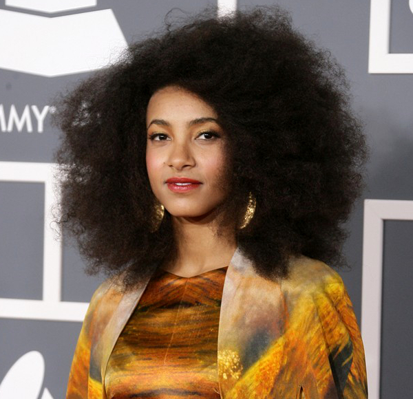 Esperanza Spalding Natural Hair