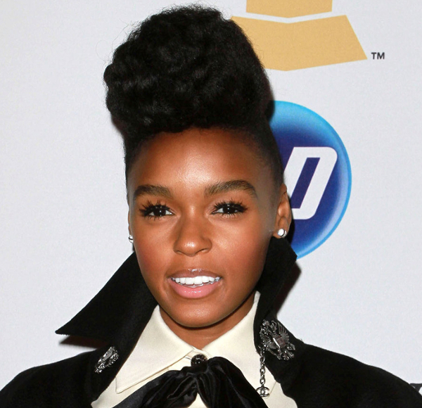 Janelle Monae Natural Hair