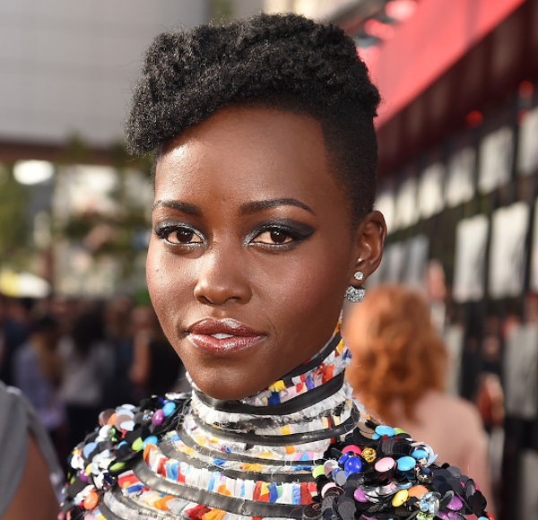 Lupita Nyong'O Natural Hair